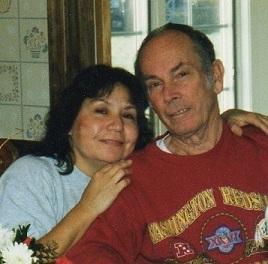 Kathy with Gene