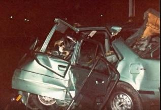 Gracie's car in 1983