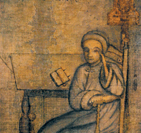Johannes Kelpius, badly drawn