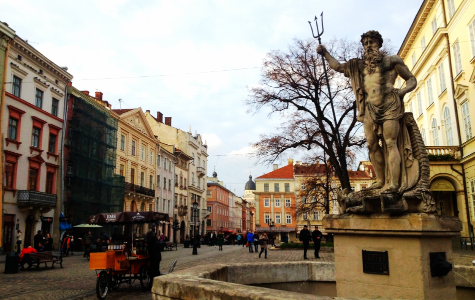 Lviv's Rynok (Market) Square