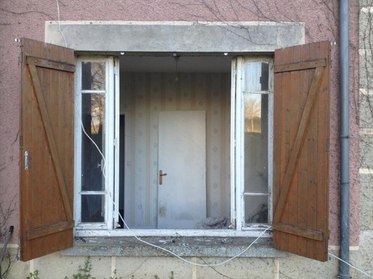 Location, location, location! The Jort-Studio Balcony. And only window.