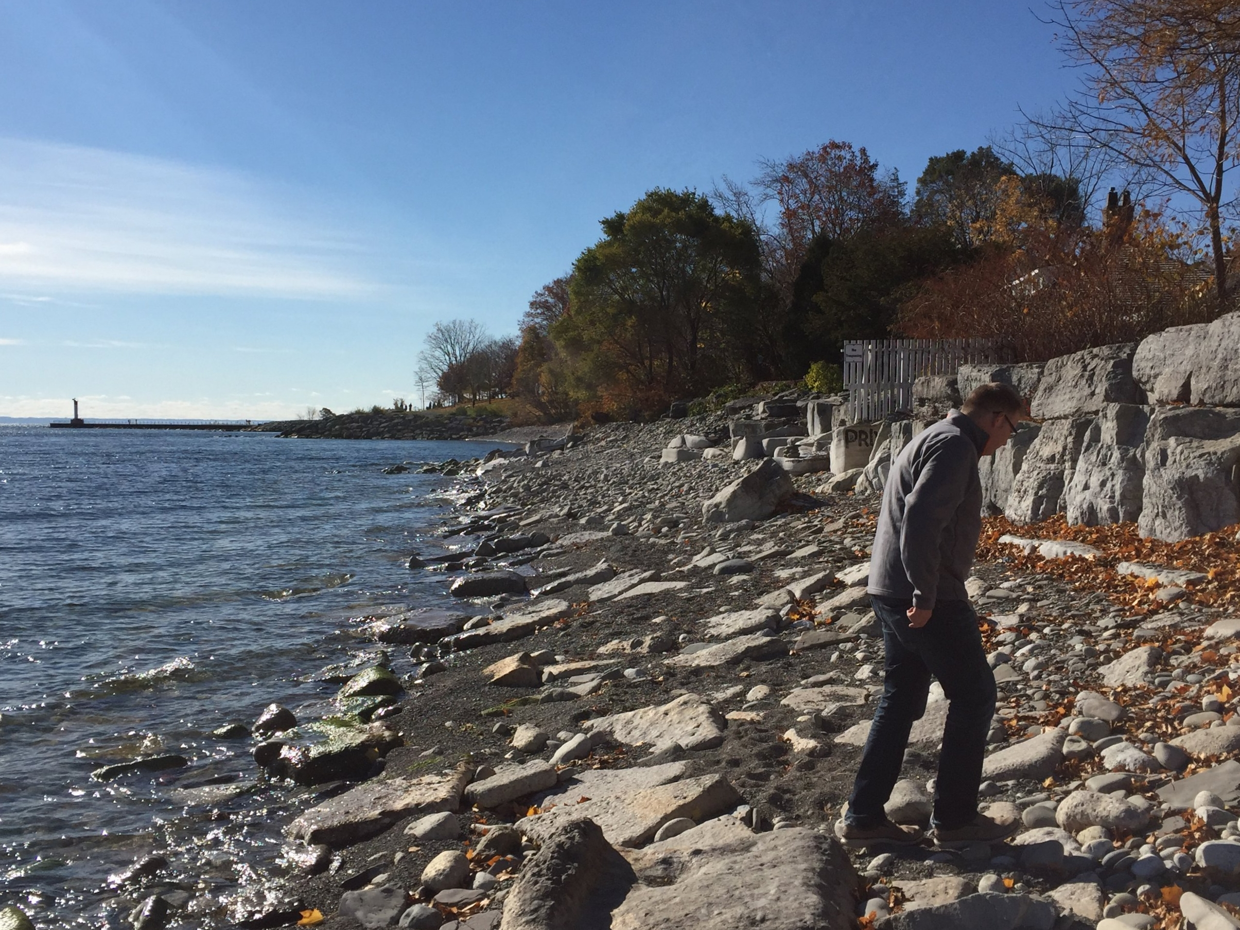 Geoff, by Lake Ontario in Oakville