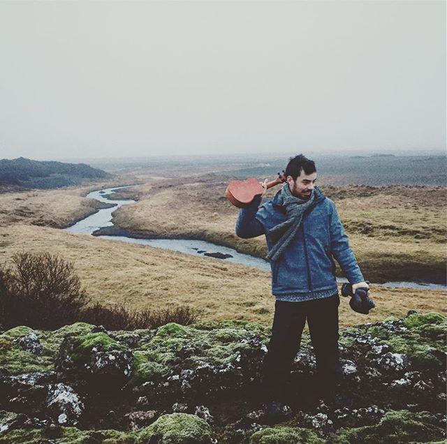 Strange place, #Iceland in Winter. Headscratching, almost. #ukulele #adventure #ukuleleroadtrips #goingnorth