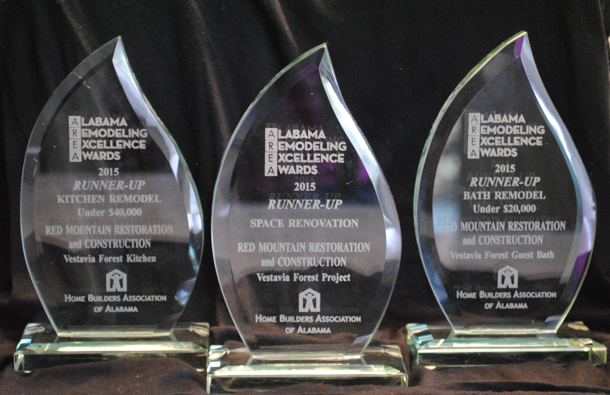 We are proud to receive these honors from the Home Builders Association of Alabama.