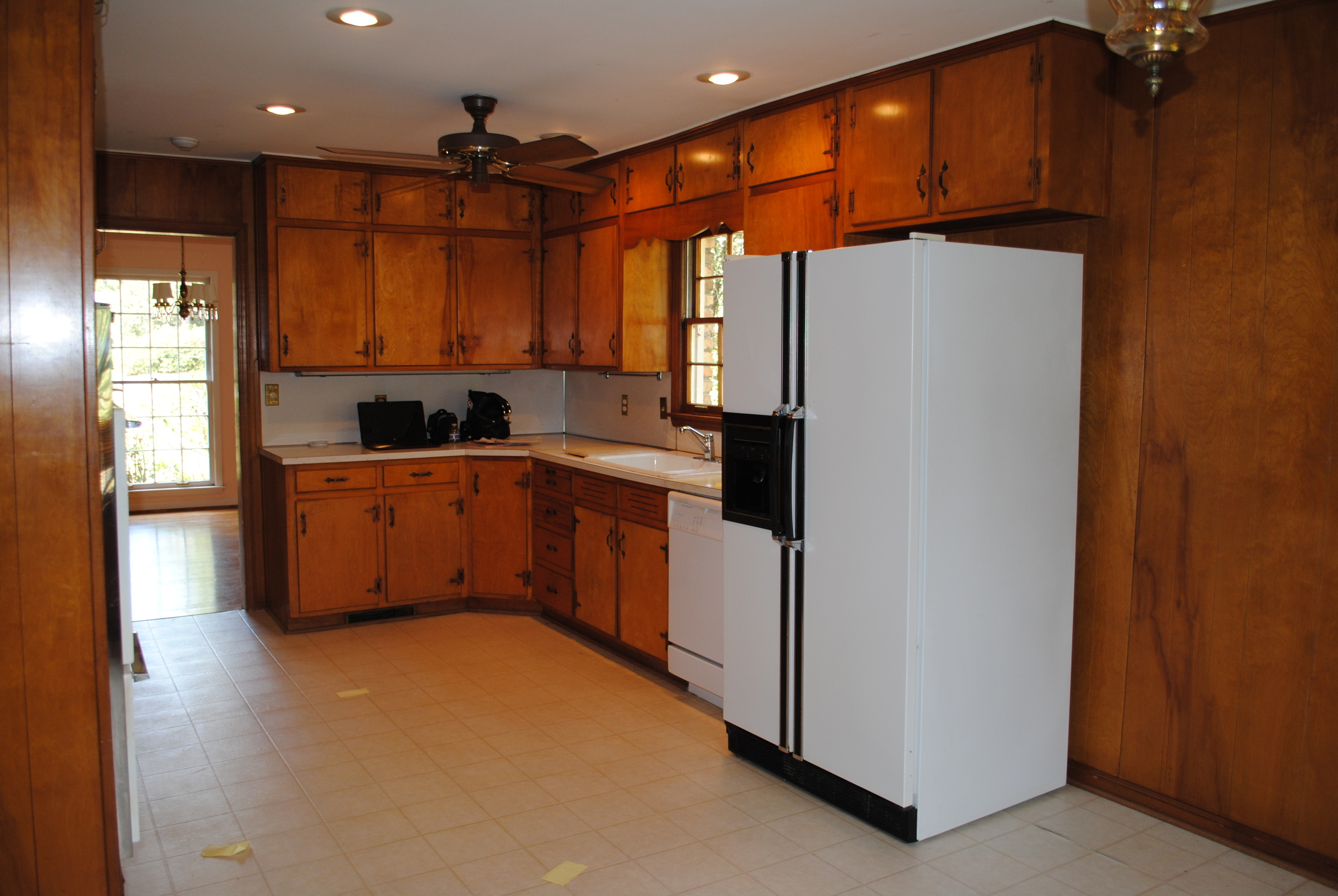 """""""Before"""" of Kitchen Area"""