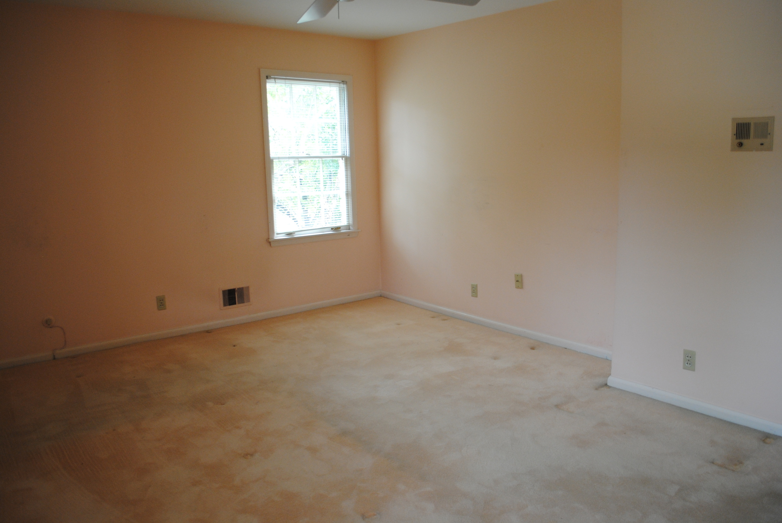 Existing Master Bedroom