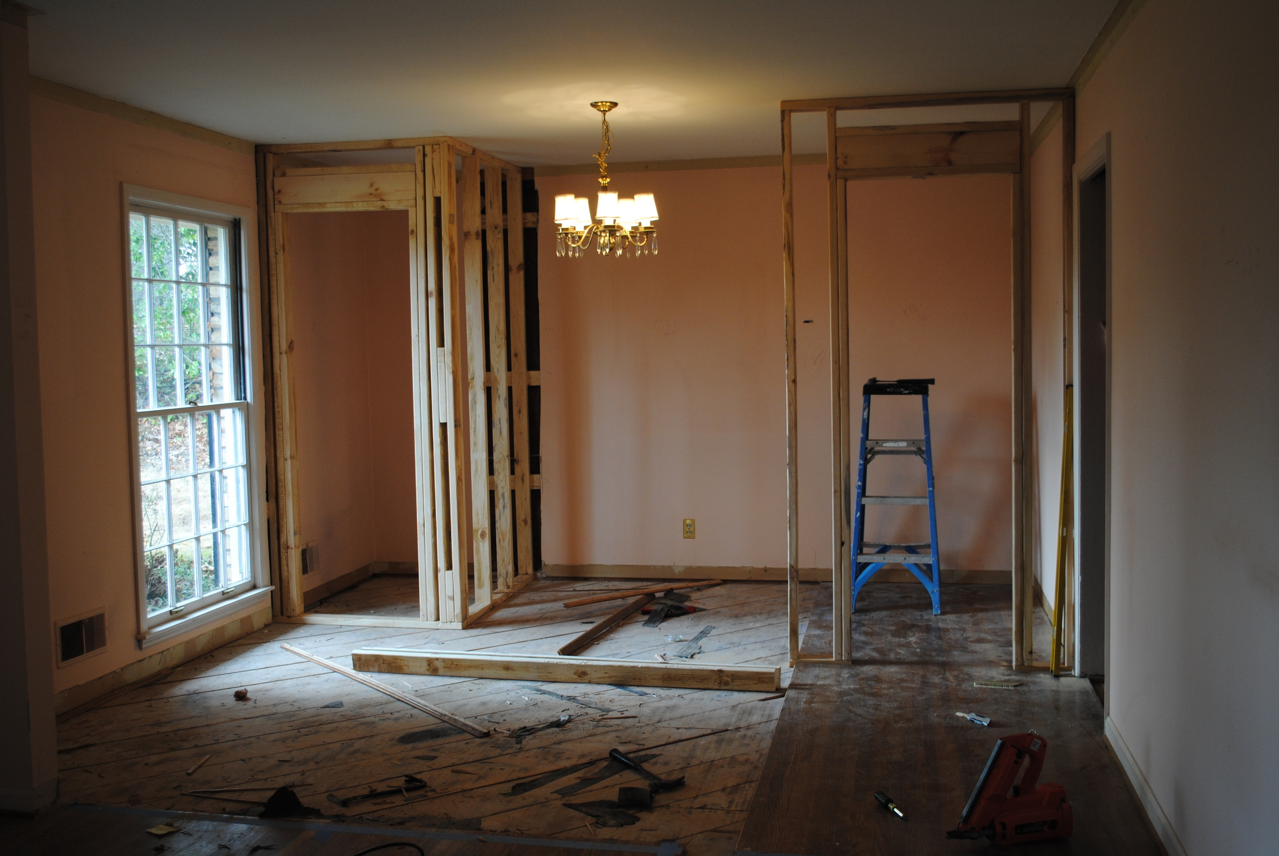 Dining Room/Formal Living Room Space