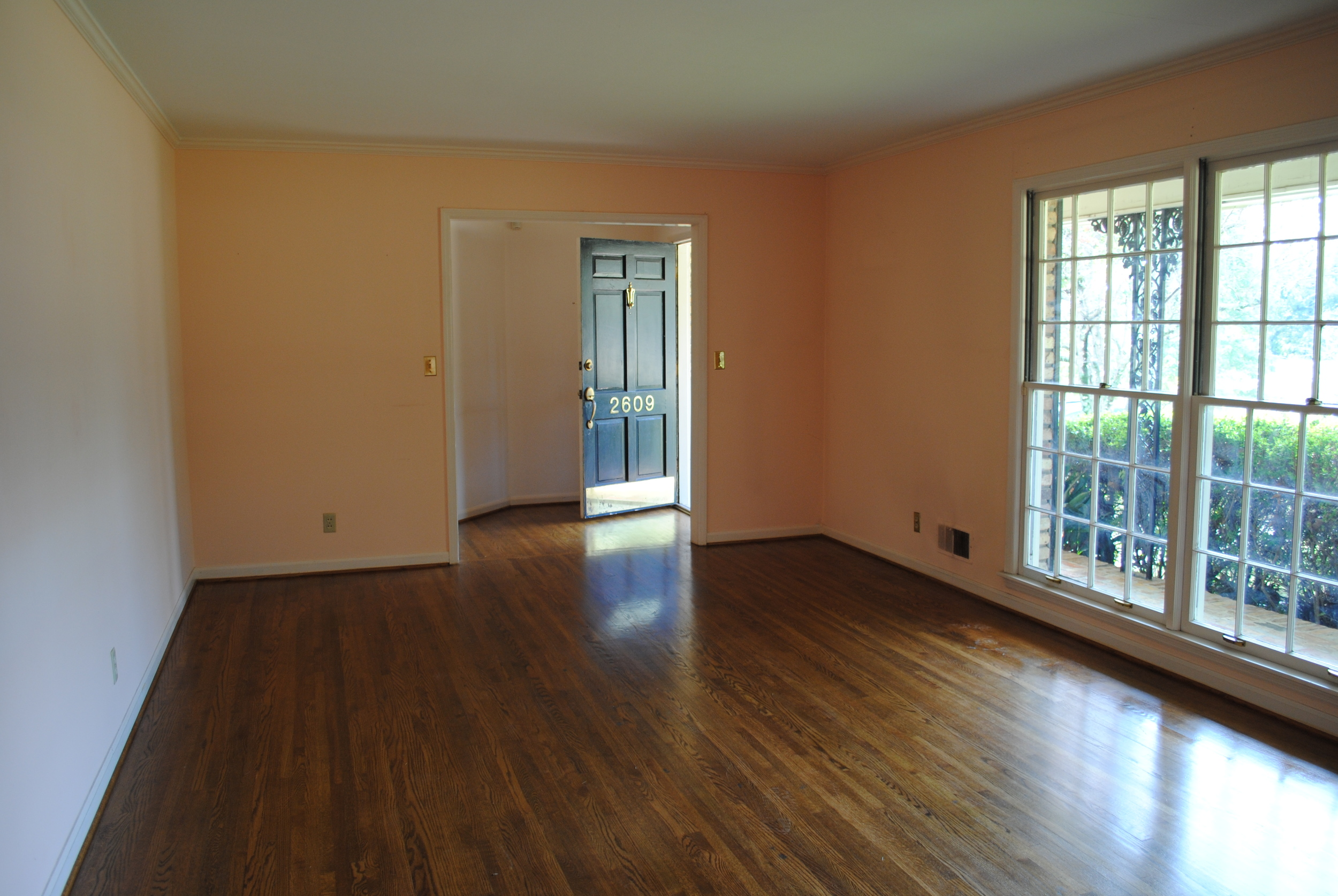 """""""Before"""" Master Bedroom Space"""