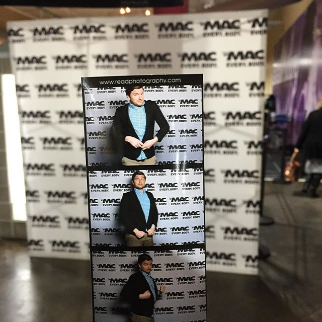 Come out and join us on the red carpet @cr_themac . We've got the photo booth ready!