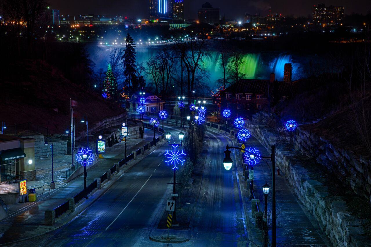 The Winter Festival of Lights in Niagara Falls, Canada