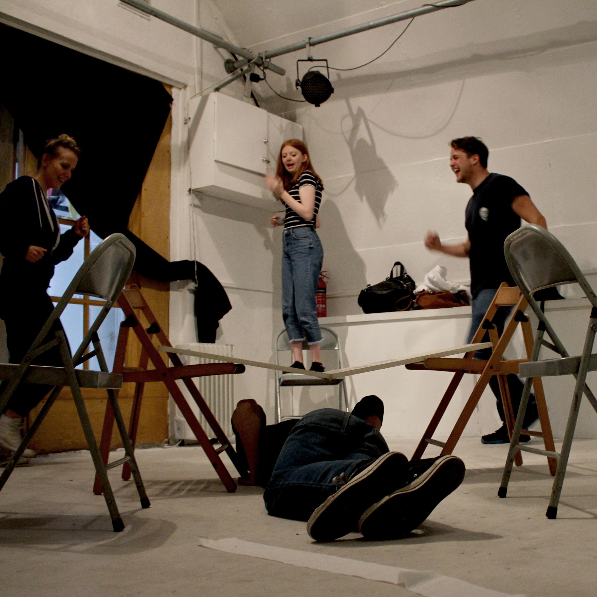 Rehearsals for Foxfinder