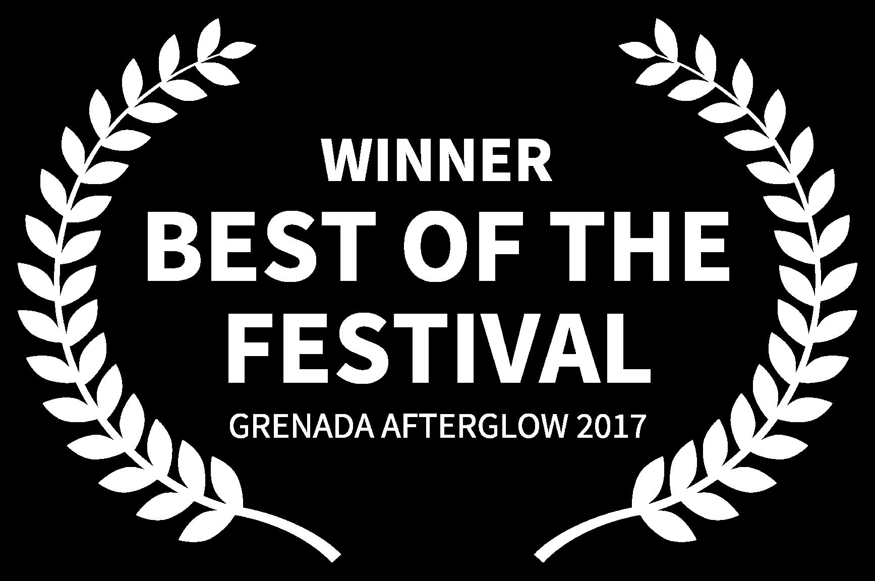 WINNER - BEST OF THE FESTIVAL - GRENADA AFTERGLOW 2017 (1).png