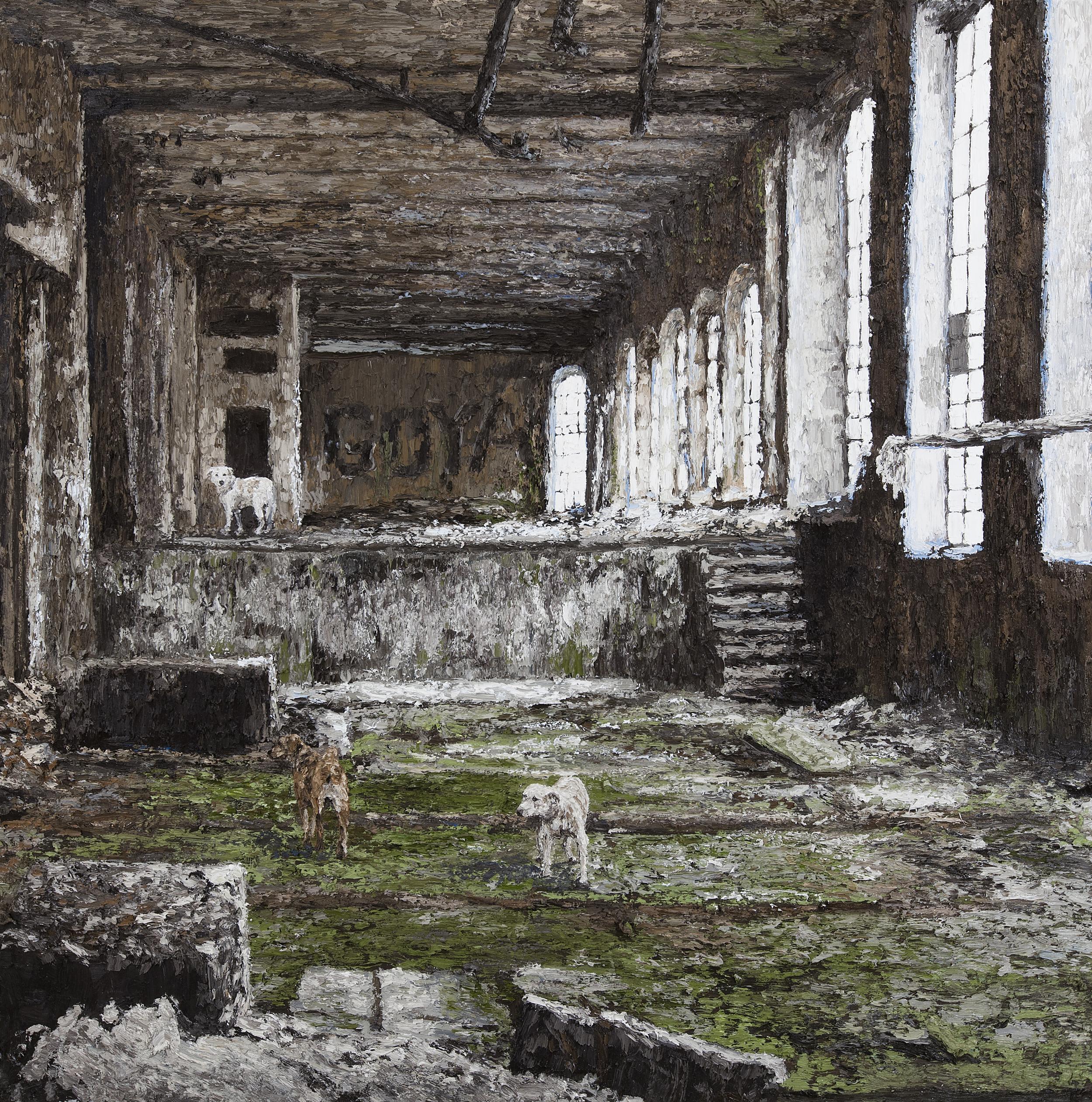 Goya  Oil on Canvas 60x60 2013