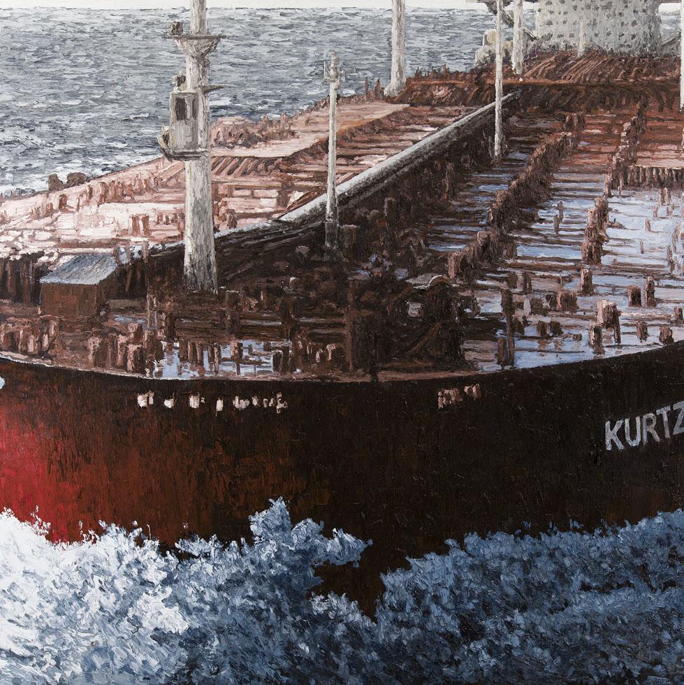 Kurtz  Oil on Canvas 78x78 2014