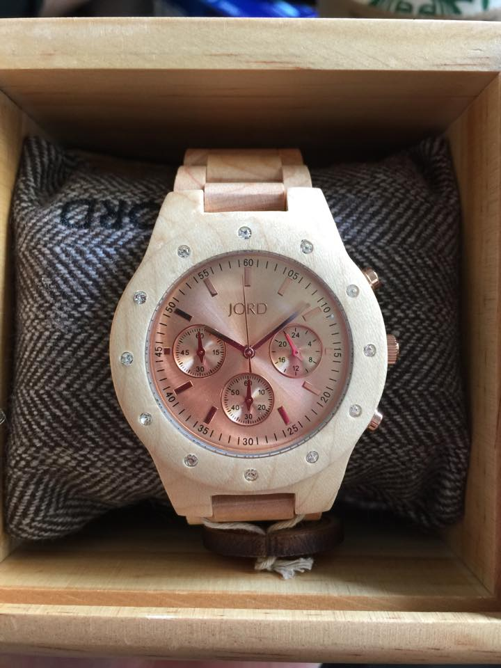 SIDNEY SERIES Maple & Rose Gold