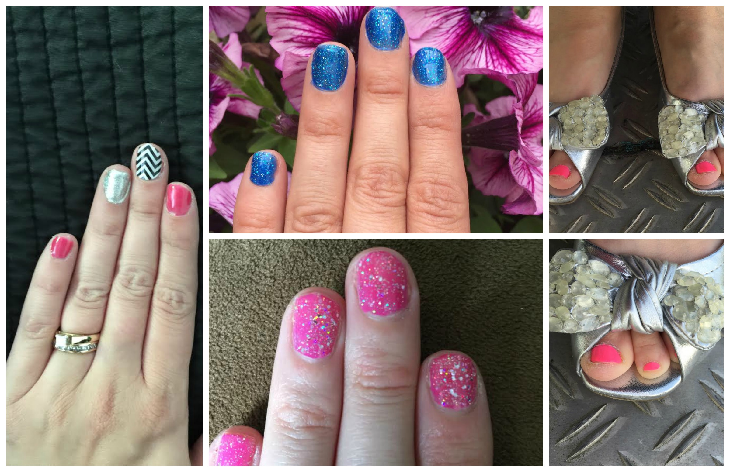 May Monthly Nails and Toes 2015