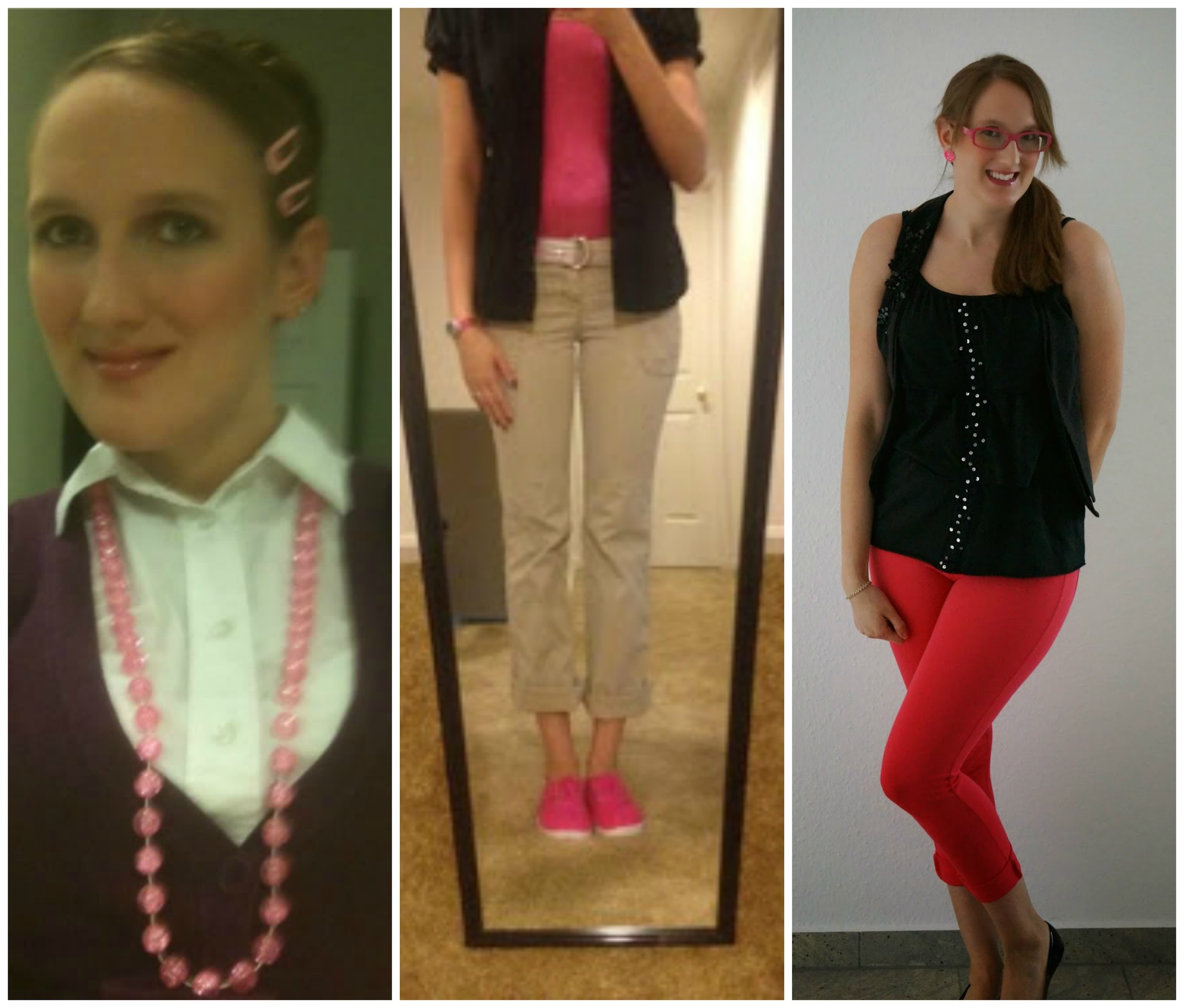 National Pink Day Outfit Over the years