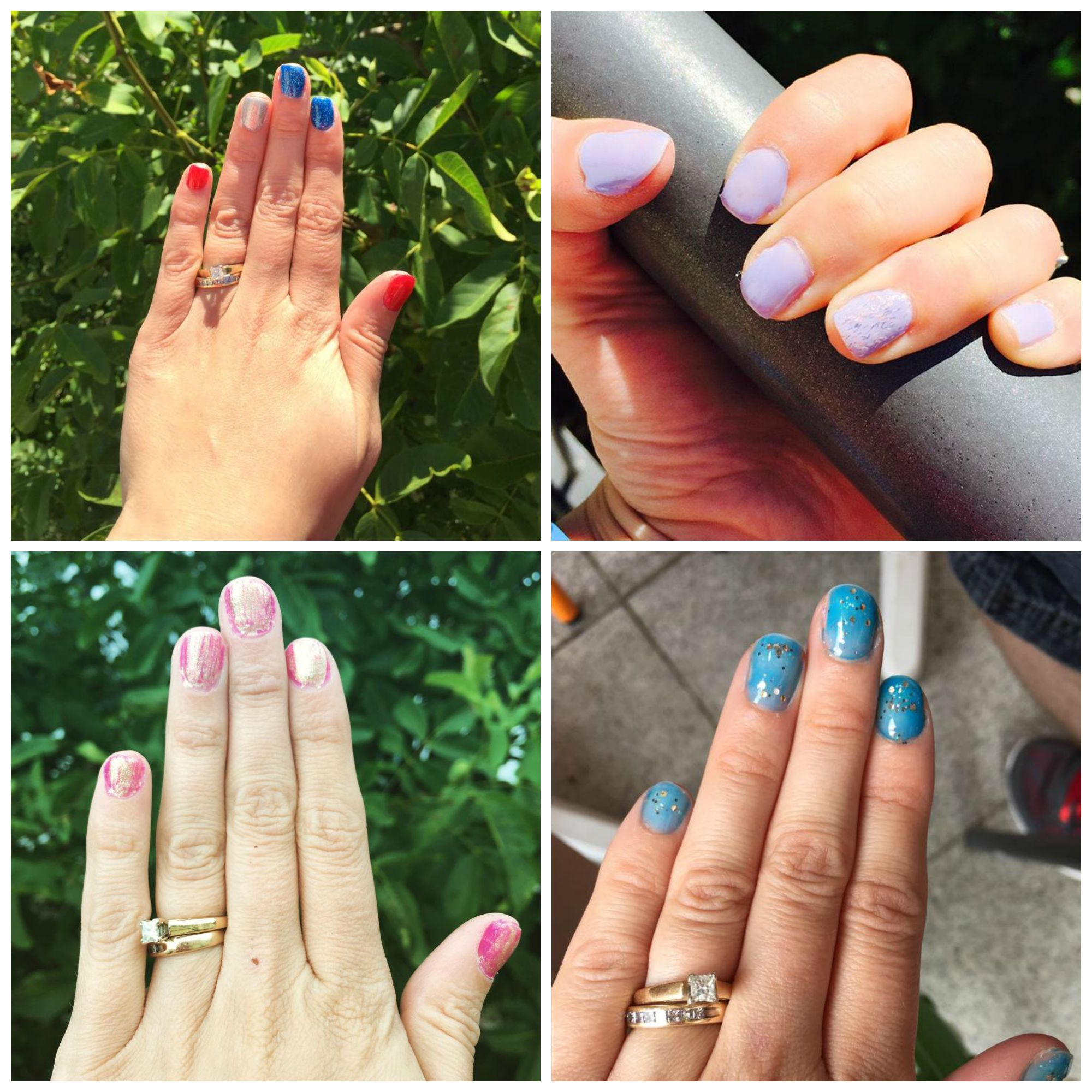July Monthly Nails and Toes