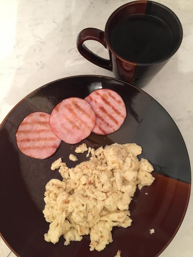 Breaskfast (Eggs and Bacon)