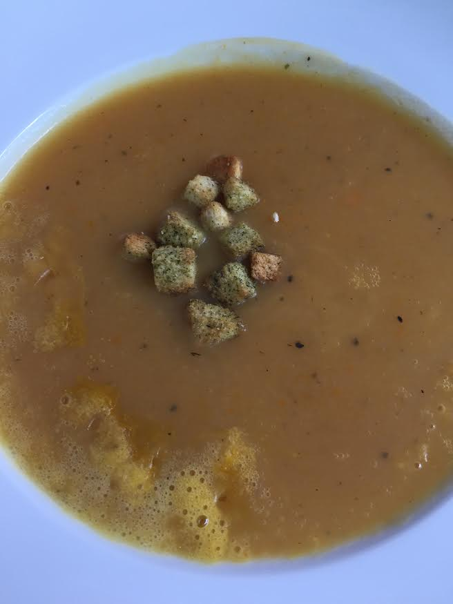 Dinner (Potato Soup)