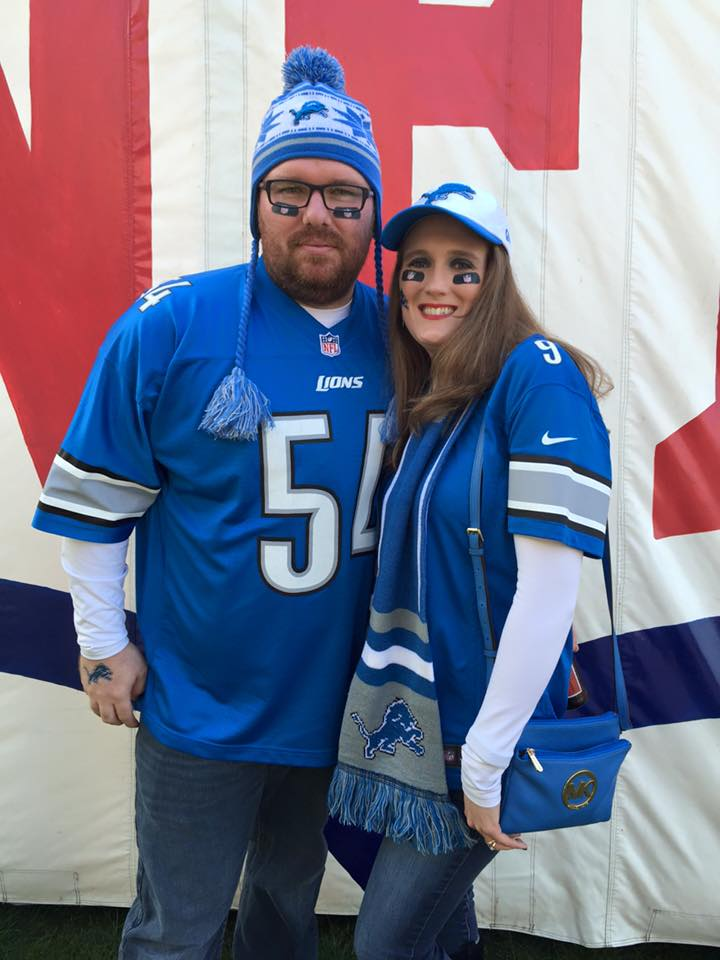 What I wore to the Lions Game in London