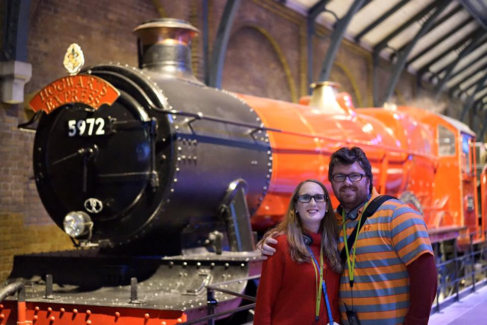 Fourth Day in London: Harry Potter