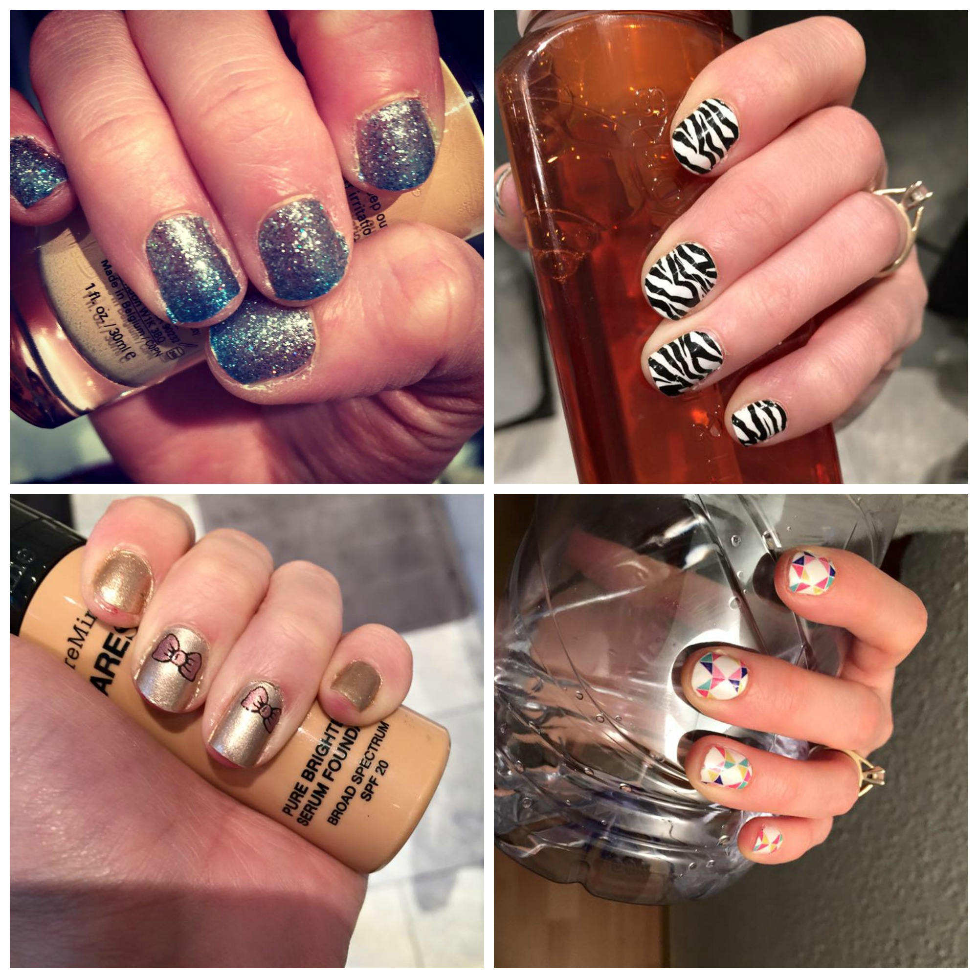 January Monthly Nails