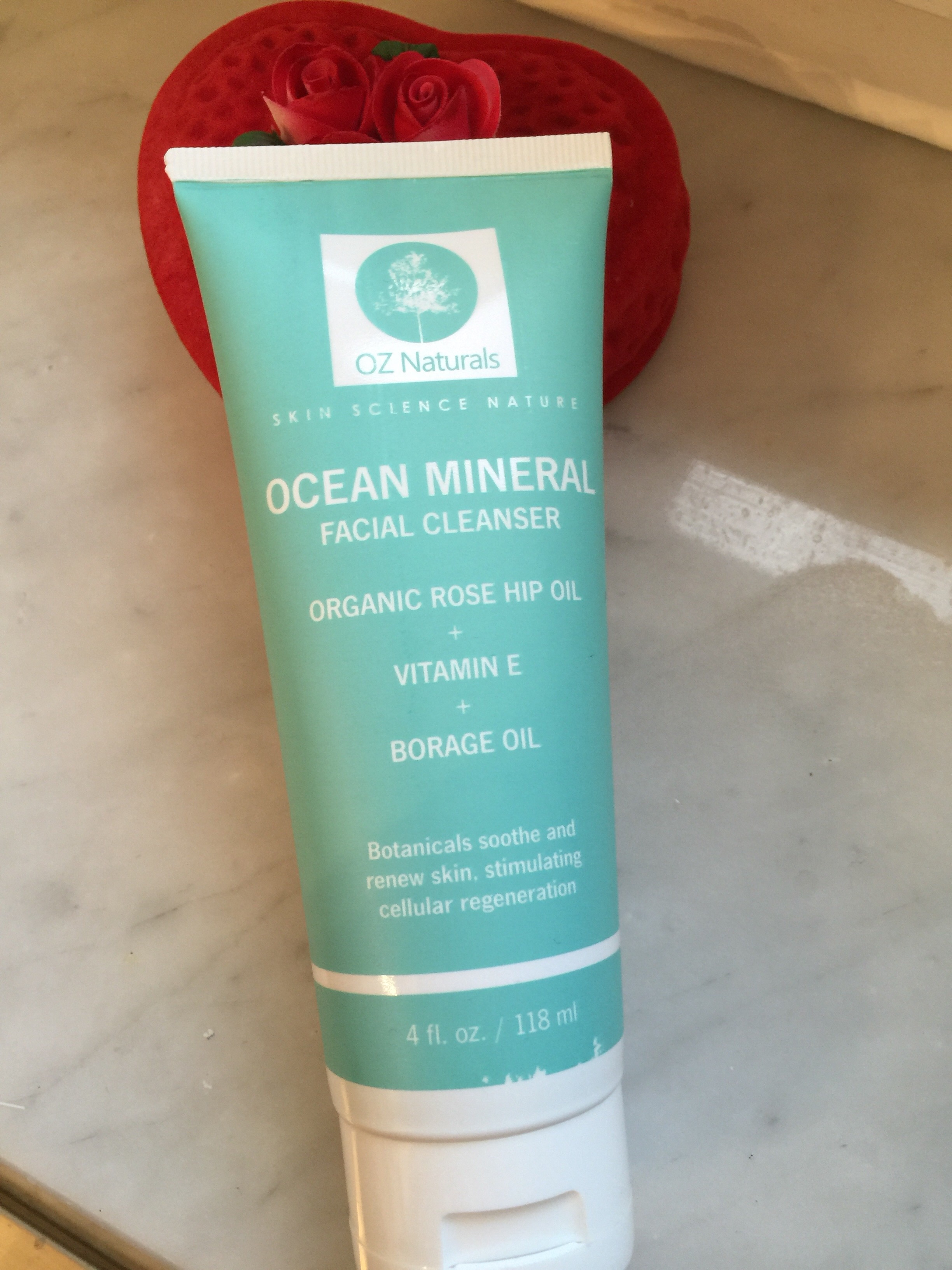 Review: OZ Naturals Ocean Mineral Facial Cleanser
