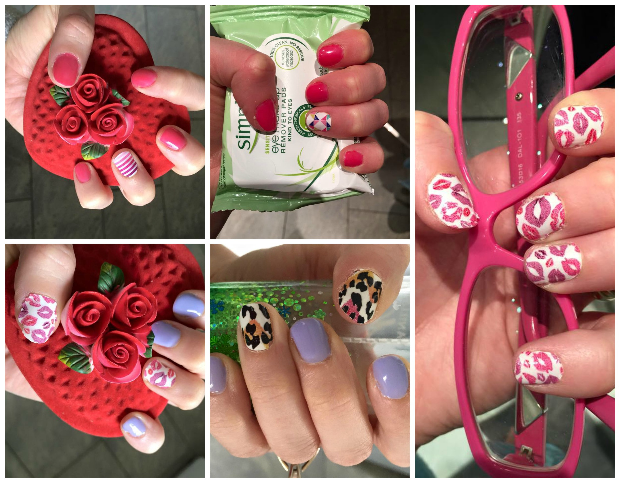 February Monthly Nails