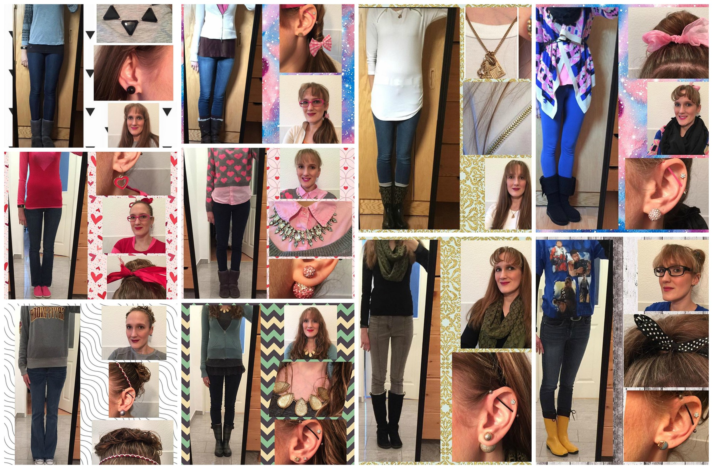 February Outfit Recap