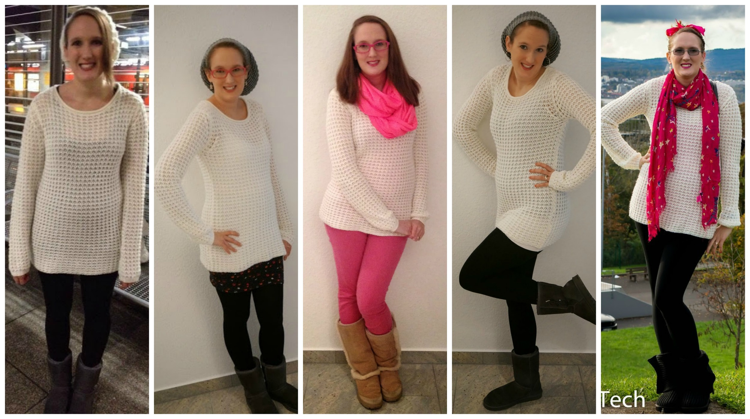 Cost Per Wear: White Cable Knit Sweater