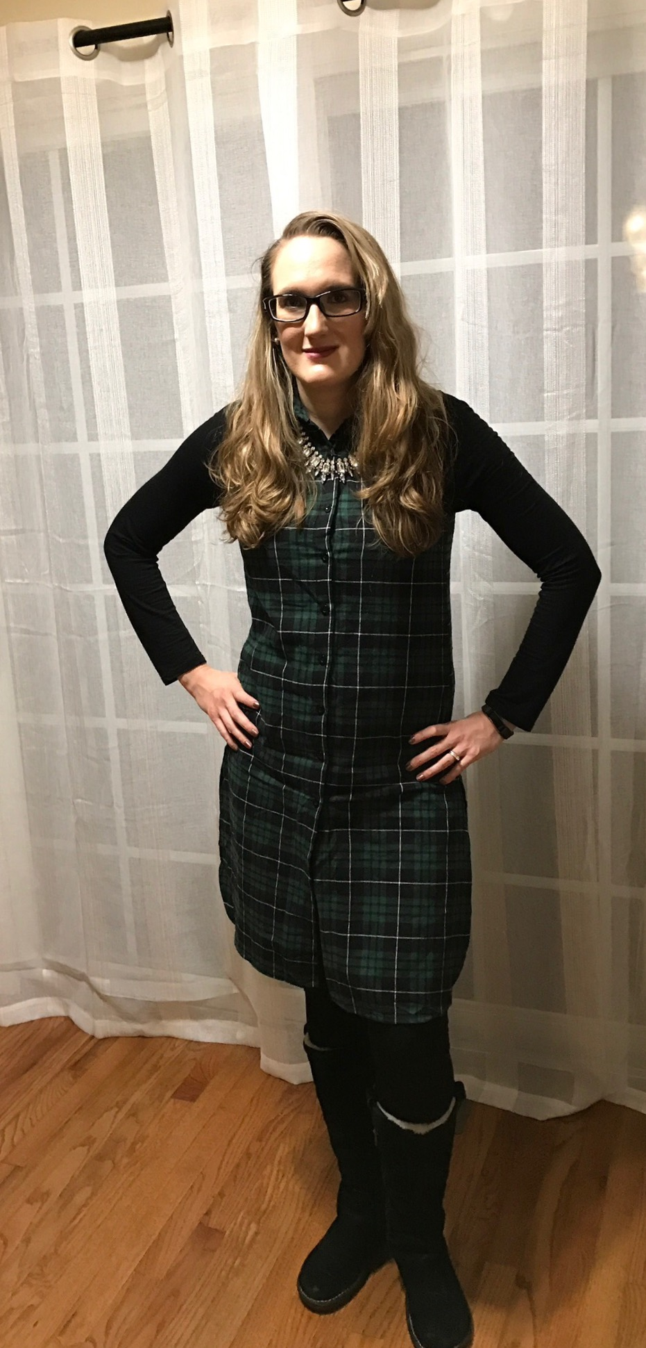 What I Wore on Thanksgiving