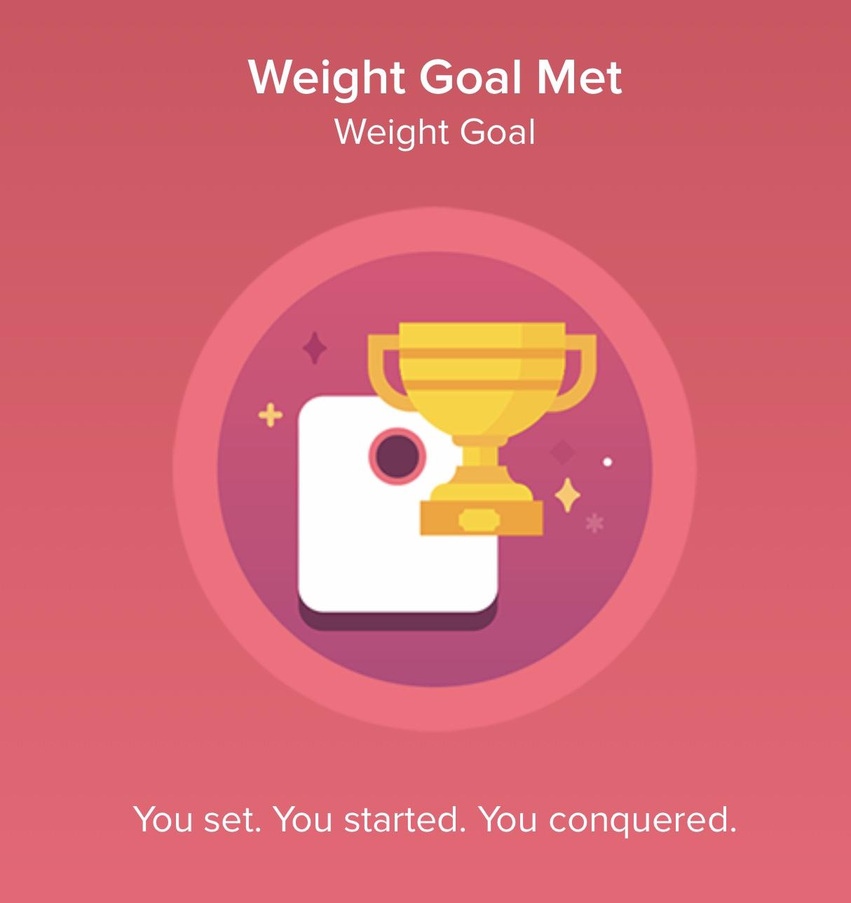 Hit Weight Goal