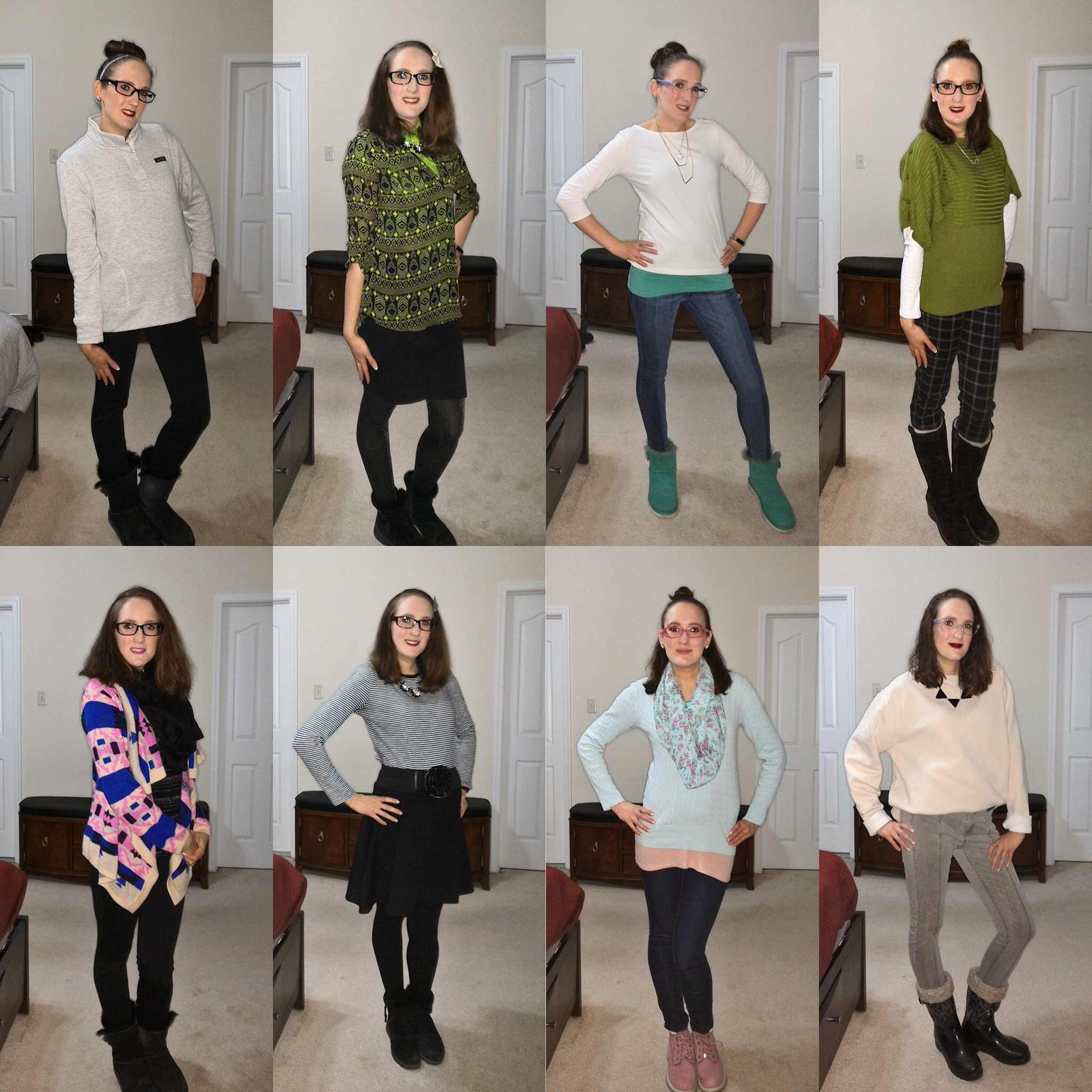 March Outfit Recap