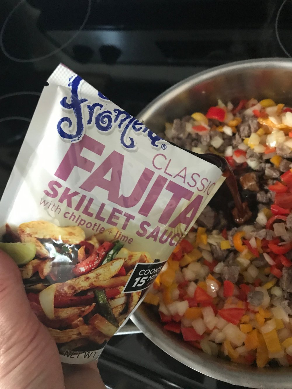 Monthly Recipe: Steak Fajitas
