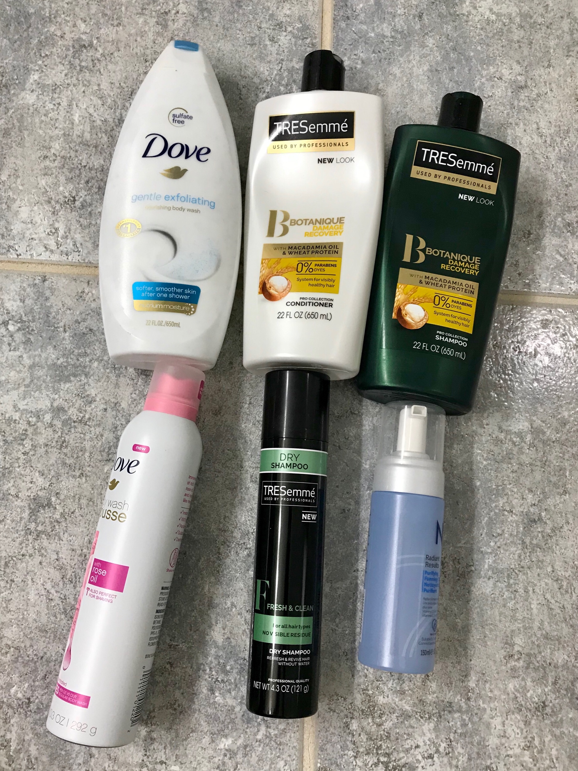 July and August Empties