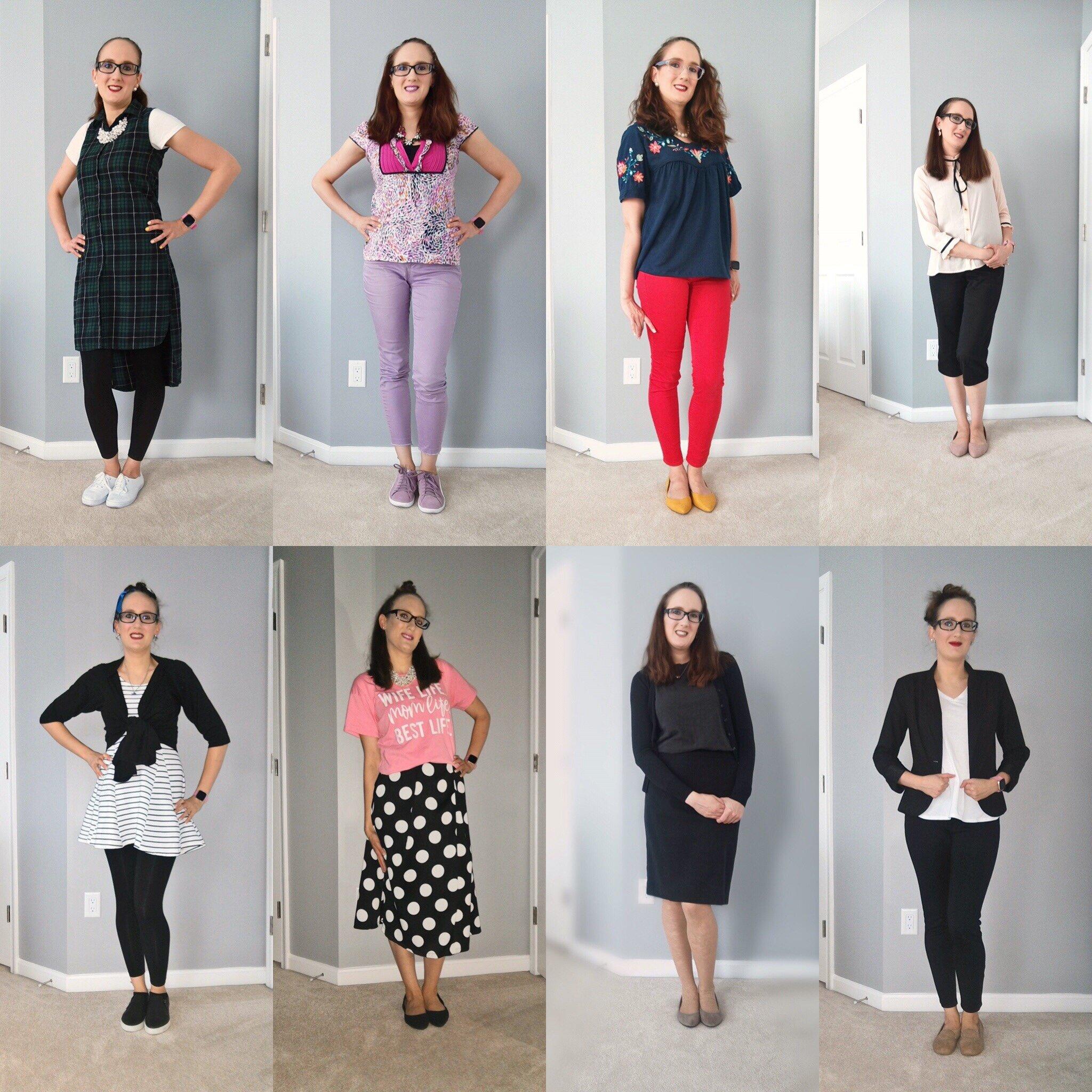 August Outfit Recap
