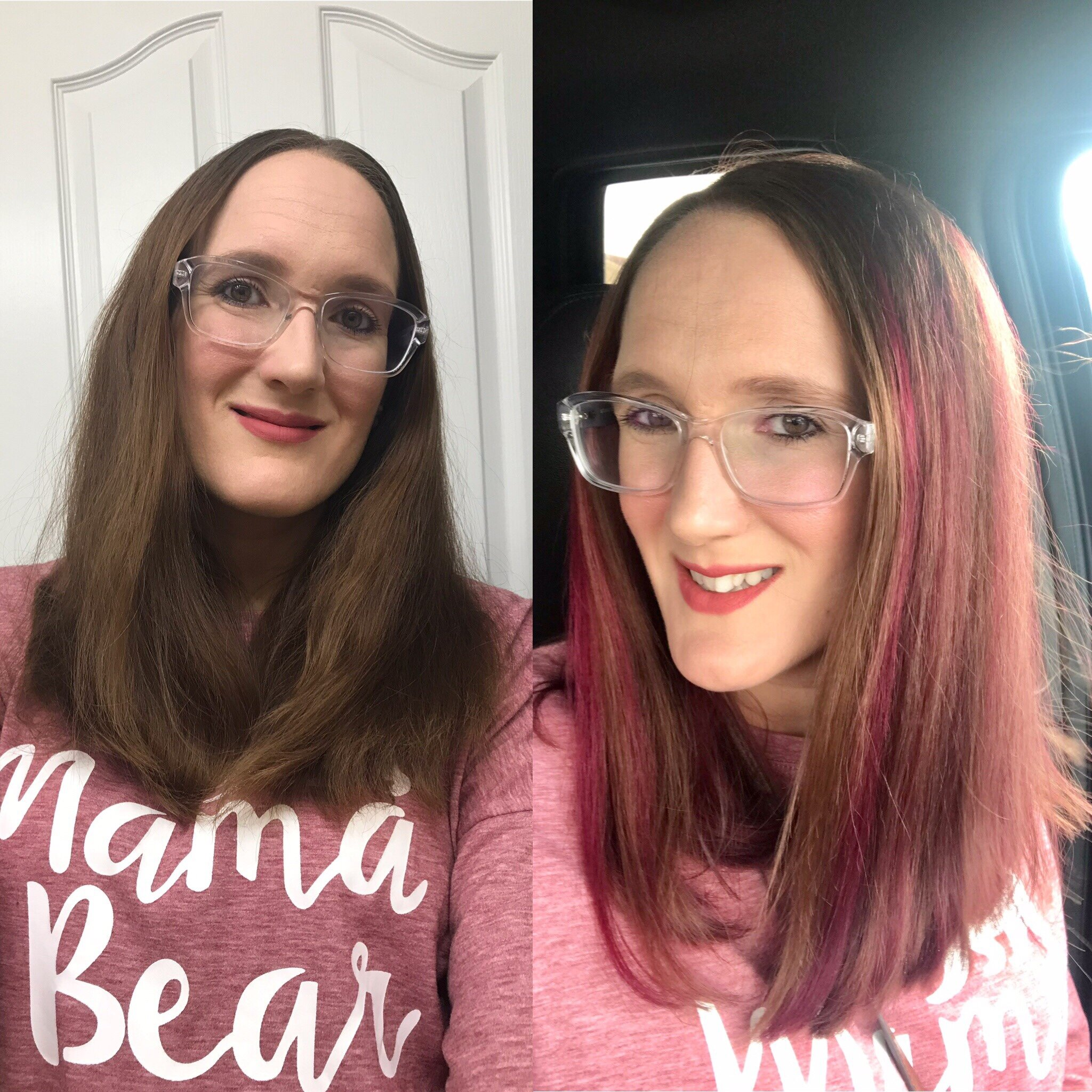Pink highlights, Say What