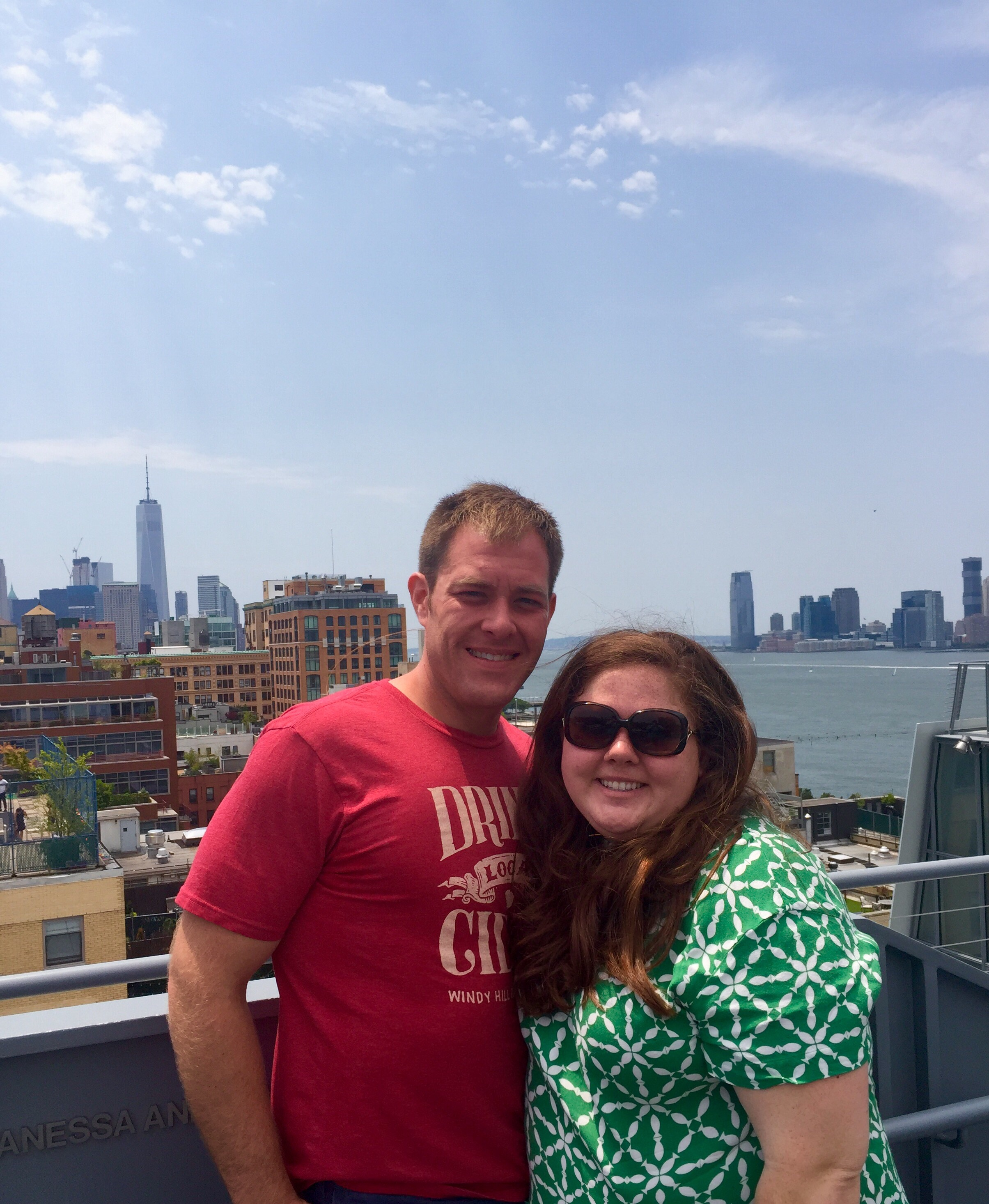 @the Whitney- this museum has art and views!