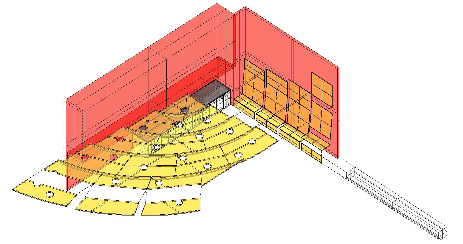 3D ceiling detail