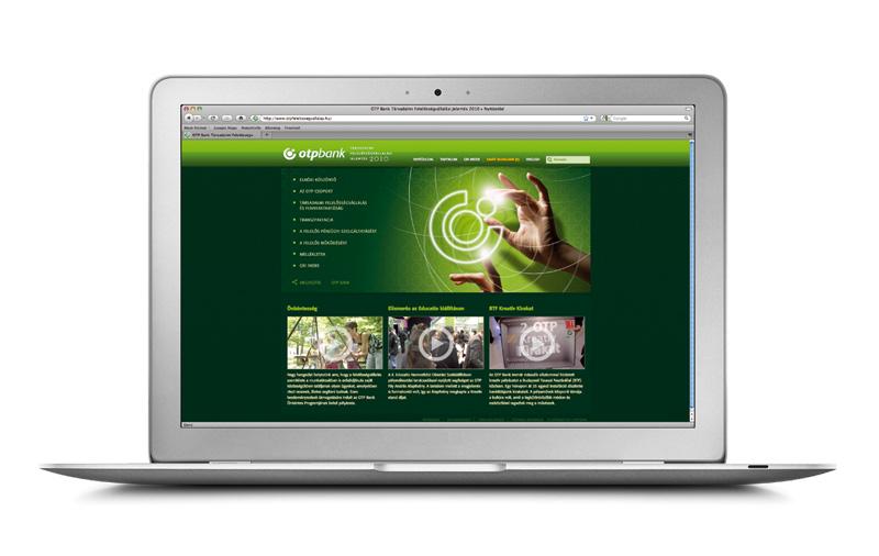 OTP CSR jelentés 2010