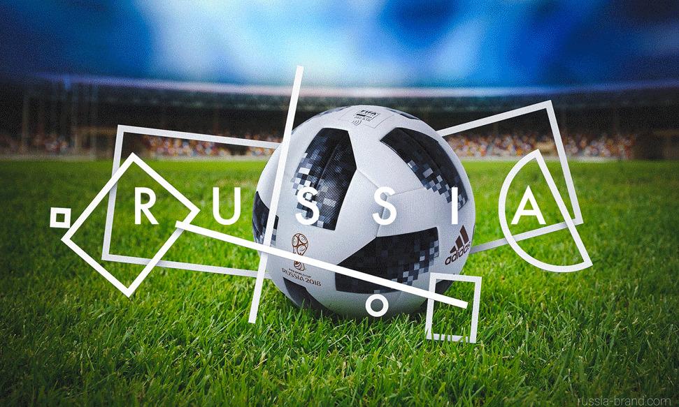 A nemcsak az orosz futballszövetségben, de a pályázat zsűrijében is elnöklő Vitalij Mutkót a dinamikus logó focilabda-kompatibilitása győzte meg: kapóra jöhet az idén Oroszországban megrendezendő futballvébé kapcsán. Ugyanitt: a Krímet szimbolizáló négyzet hovatartozása a látványterveken is kétes