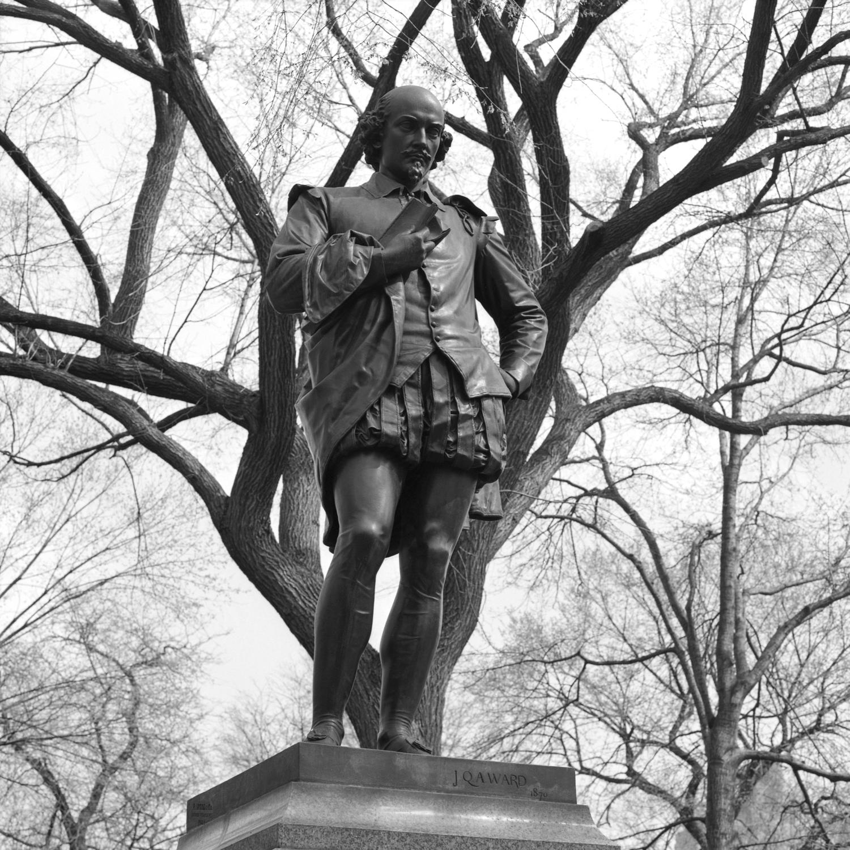john quincy adams ward . william shakespeare