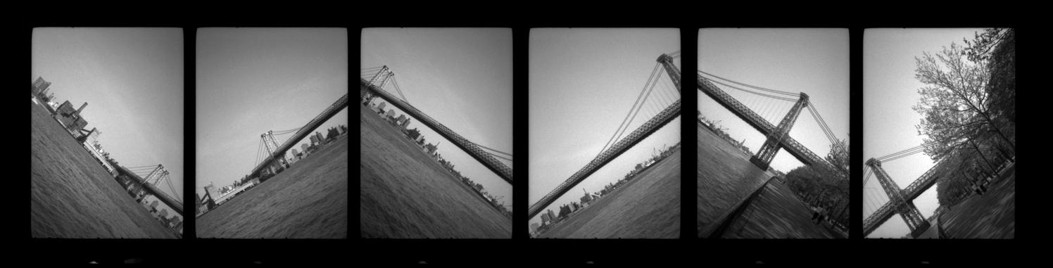 williamsburg bridge . new york . 1988