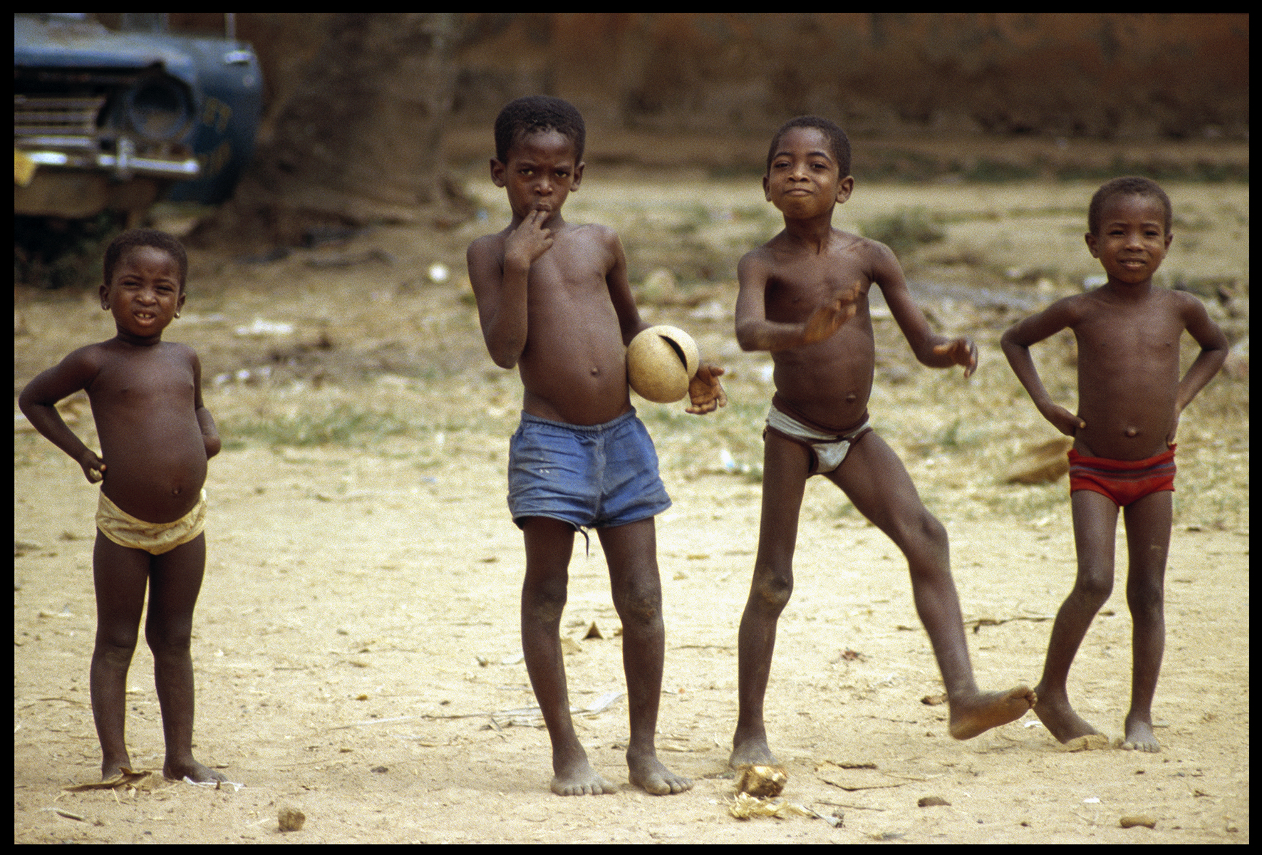 children . atakpamé . togo . 1981