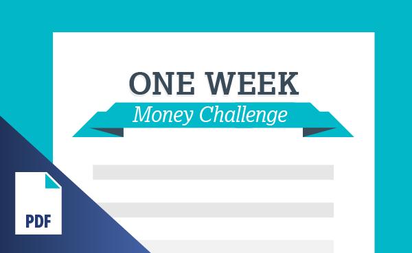 One Week Money Challenge