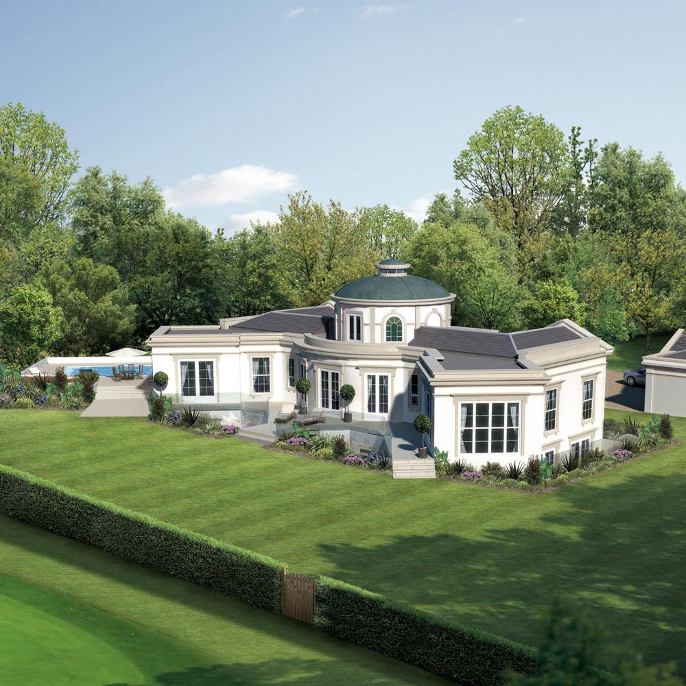 Luxury detached dwelling in Virginia Water, Surrey