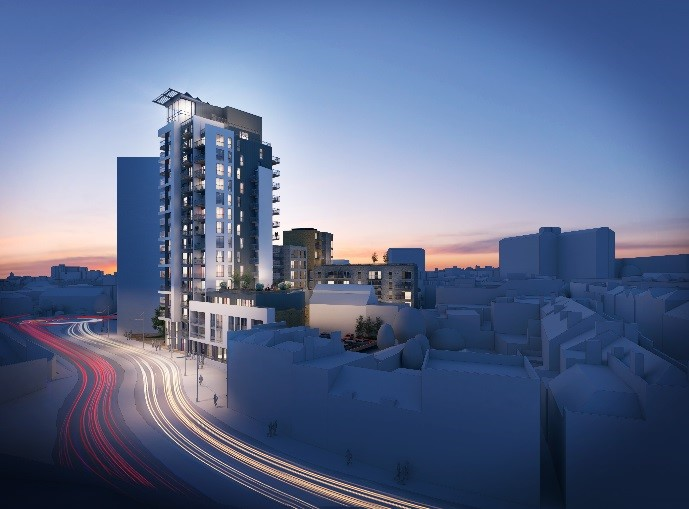 New Build Development, Woolwich, South East London