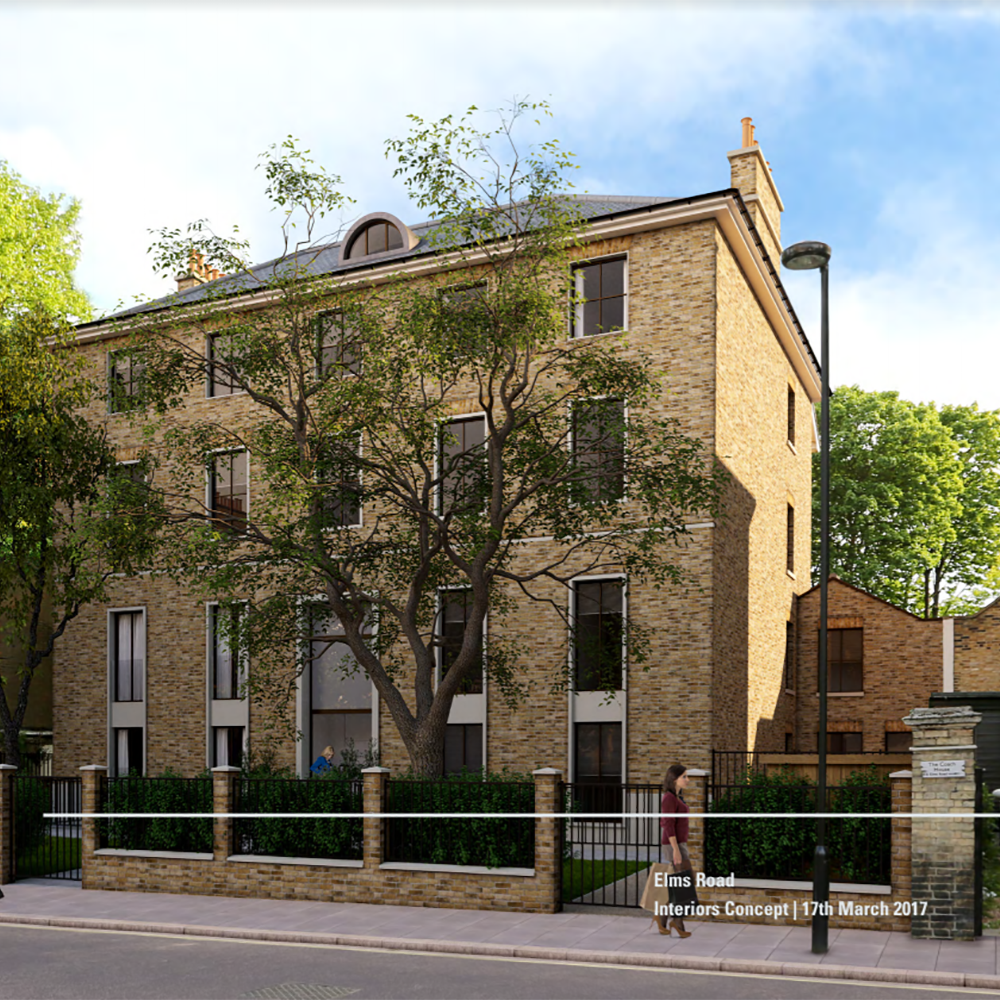 Residential apartments in Clapham, South West London