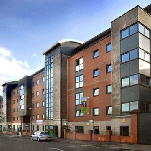 Student accommodation block in Nottingham.